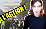 Les violences policières contre les gilets jaunes sont les violences de la République contre le Pays Réel, souligne Virginie Vota