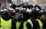 A Bruxelles, les Gilets Jaunes réclament la démission du gouvernement belge