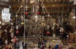 Restauration de la Basilique de la Nativité à Bethléem (Merci à l'Autorité Palestinienne !)