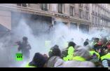 Gilets Jaunes, acte IV à Paris – L'usage des gaz lacrymogènes a débuté avant 11h