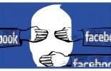 Censure de notre compte Facebook