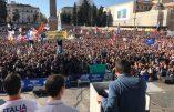 L'incroyable succès de Matteo Salvini pour son rassemblement à Rome