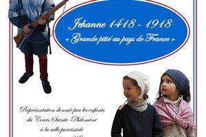 """18 décembre 2018 à Nancy – Pièce de théâtre """"1418-1918 : Grande pitié au pays de France"""""""