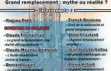 """30 mars 2019 – Colloque """"Grand remplacement : mythe ou réalité ?"""""""