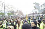 Acte IX à Paris – Des milliers de gilets jaunes quittent Bercy et se dirigent vers les Champs-Elysées (direct)