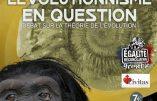 9 février 2019 à Grenoble – L'évolutionnisme en question