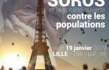 """19 janvier 2019 à Lille – """"Soros et la société ouverte contre les populations"""""""