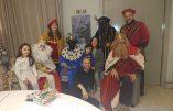 Le joueur de foot Andrés Iniesta accusé de racisme pour une simple photo de famille pour la fête de l'Epiphanie