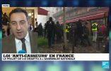 Le Rassemblement National a voté la loi anti-casseurs de Macron