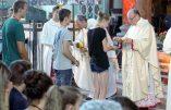 L'évêque conciliaire Mgr Huonder prêche au sein d'un prieuré de la FSSPX