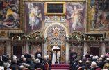 La préoccupation du pape: les populismes!
