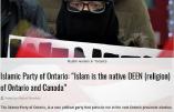 Canada – Naissance du Parti Islamique de l'Ontario