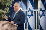 Le président israélien Rivlin à Paris