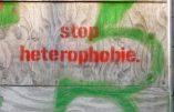 Un enseignant antifa et LGBT propose d'interdire l'hétérosexualité