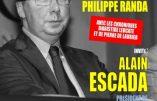 Sur Radio Libertés, Escada propose la séparation du CRIF et de l'Etat ainsi que des loges et de l'Etat