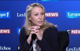 Marion Maréchal favorable à François-Xavier Bellamy, tête de liste LR aux européennes
