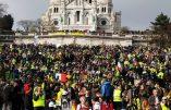 Acte XIX à Paris – Les Gilets Jaunes affluent vers la Basilique du Sacré-Cœur