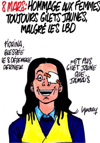 Ignace - Hommage aux femmes Gilets jaunes