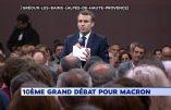 Macron négationniste ? Il nie les violences policières contre les gilets jaunes
