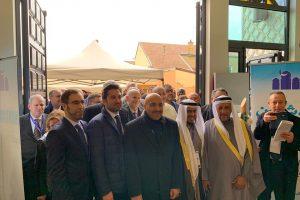 Mgr de Moulins-Beaufort à l'inauguration de la grande mosquée de Reims