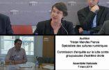 Tristan Mendès-France, militant d'extrême gauche désigné expert de l'extrême droite…