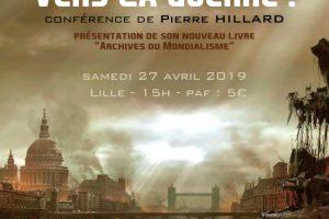 27 avril 2019 à Lille – Conférence de Pierre Hillard