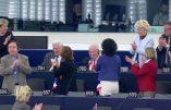 """""""La postérité vous maudira"""" (Jean-Marie Le Pen s'adressant une dernière fois aux députés européens)"""
