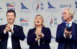 Marine Le Pen fuit lorsqu'on lui parle d'Alain Soral