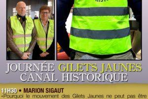15 juin 2019 à La Roche-sur-Yon : Journée Gilets Jaunes canal historique