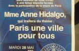 Le 28 mai, Anne Hidalgo présentera son projet de Paris maçonnique