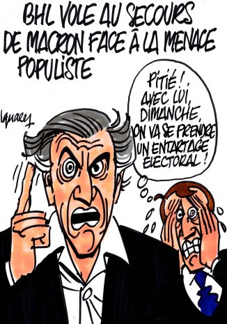 Ignace - BHL contre la menace populiste