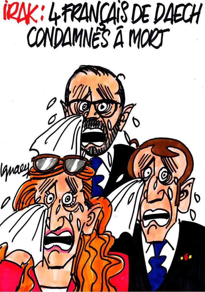 Ignace - Quatre Français de Daech condamnés à mort