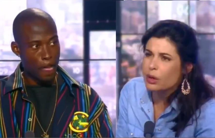 La journaliste Charlotte d'Ornellas  a eu le courage de dire au rappeur Nick-Conrad: «la porte est ouverte»! dans Non classé nick-conrad-vs-charlotte-dornellas
