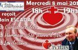 Ce mercredi 8 mai, Alain Escada sera l'invité de Radio Courtoisie