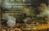 Un été d'espoir et de sang : le dernier été de la monarchie (Pierre-Louis Rœderer)