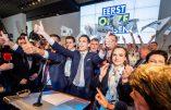 Le Vlaams Belang triple ses résultats et redevient deuxième parti de Flandre