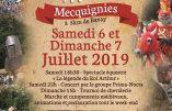 6 & 7 juillet 2019 – Fête médiévale à Mecquignies