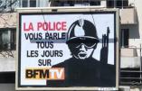 Voici l'affiche qui dérange fortement BFM TV