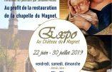 Du 22 juin au 30 juillet 2019 – Expo L'Enfance de l'Art au Château du Magnet