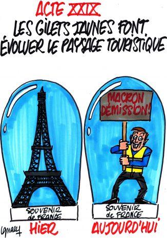 Ignace - Les Gilets jaunes font évoluer le tourisme