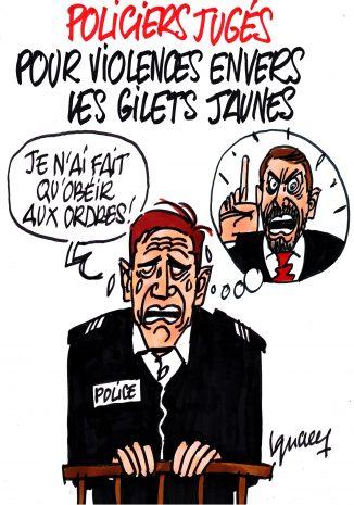 Ignace - Policiers jugés pour violences envers les Gilets jaunes