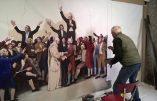 Plus de 100 m2 de peinture pour raconter les guerres de Vendée