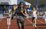 Chronique de la Genderofolie: Un athlète homme qui se croit femme remporte le 400 m haies féminin