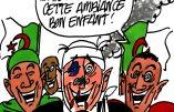 Ignace - La victoire de l'Algérie fêtée en France