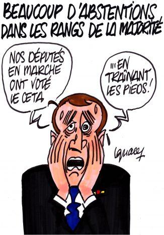 Ignace - Beaucoup d'abstentions dans les rangs de la majorité