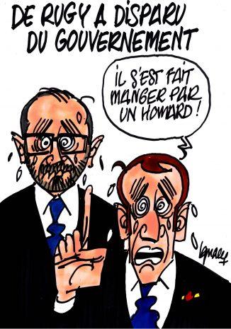 Ignace - De Rugy a disparu du gouvernement