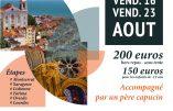 Du 16 au 23 août 2019, pelérinage marial – Avec Saint Laurent de Brindes