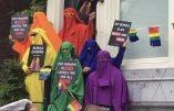 Amsterdam – Des LGBT pro-Burqa durant la gay pride locale !