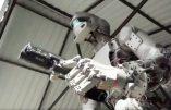 Fedor, le robot russe qui tire plus vite que son ombre, part dans l'espace