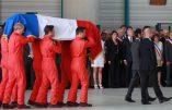 Nîmes – Hommage au pilote de canadair décédé en service… et chant étonnant